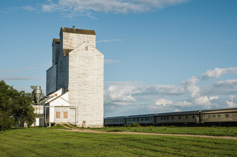 Grain Elevator (Rivers, Manitoba)