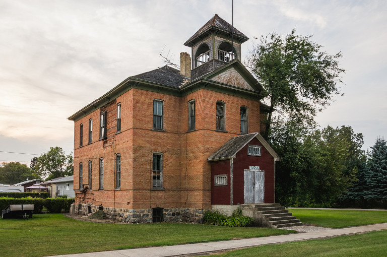 Old Civic Building? Cypress River, Manitoba)