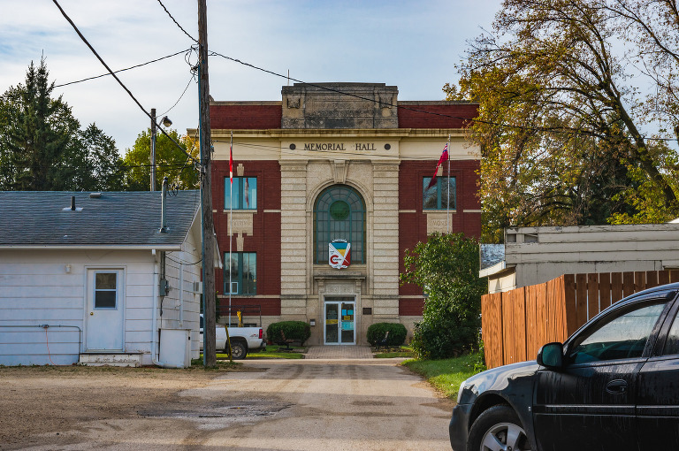 Memorial Hall (Carman, Manitoba)
