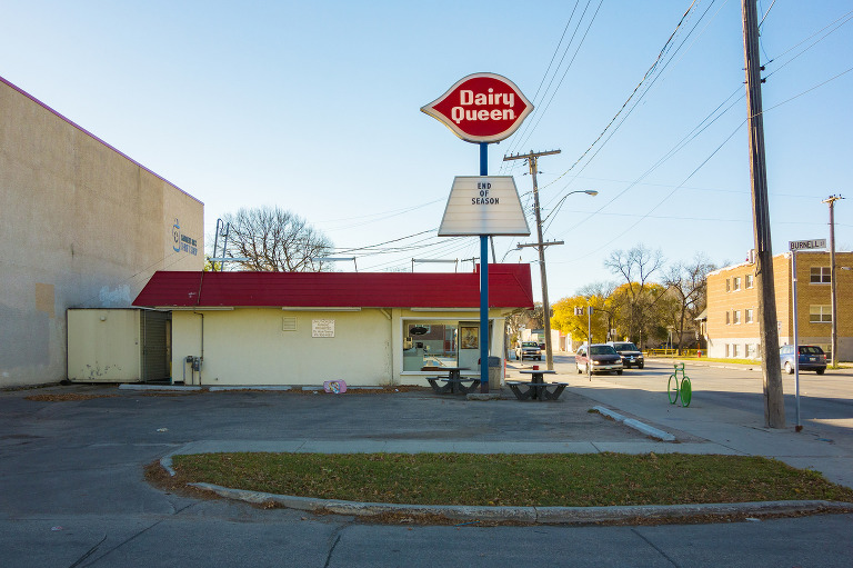 End of Season (Dairy Queen, Sargent Avenue)