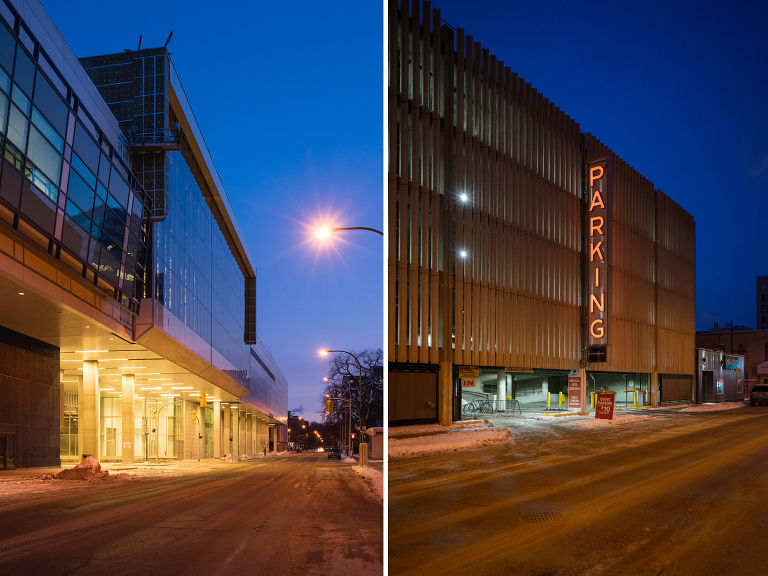 Convention Centre (Edmonton Street)/Parking (Edmonton Street).