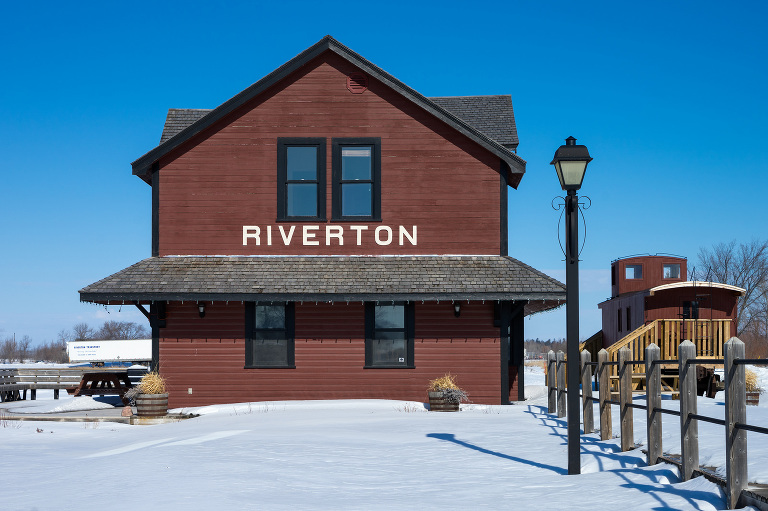 Riverton Train Station (Riverton, Manitoba).