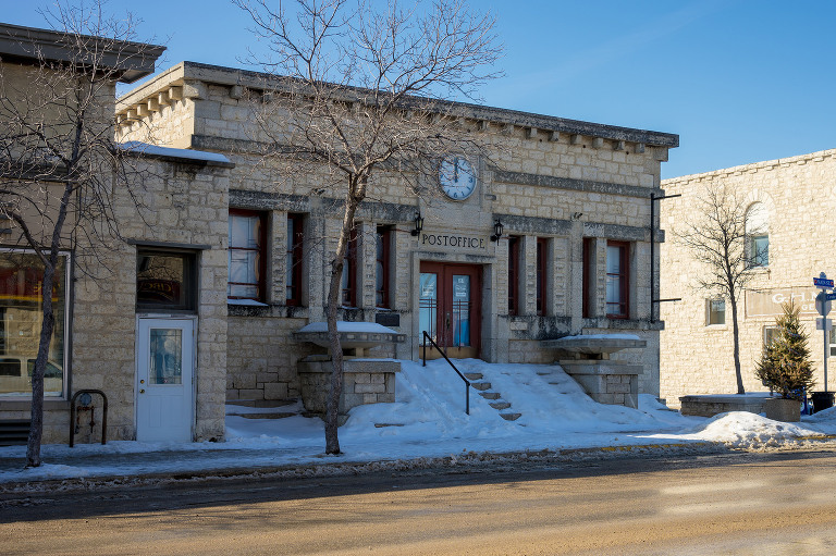 Post Office (Stonewall, Manitoba.)