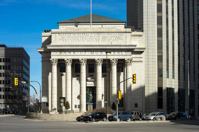 Bank of Montreal (Portage and Main).