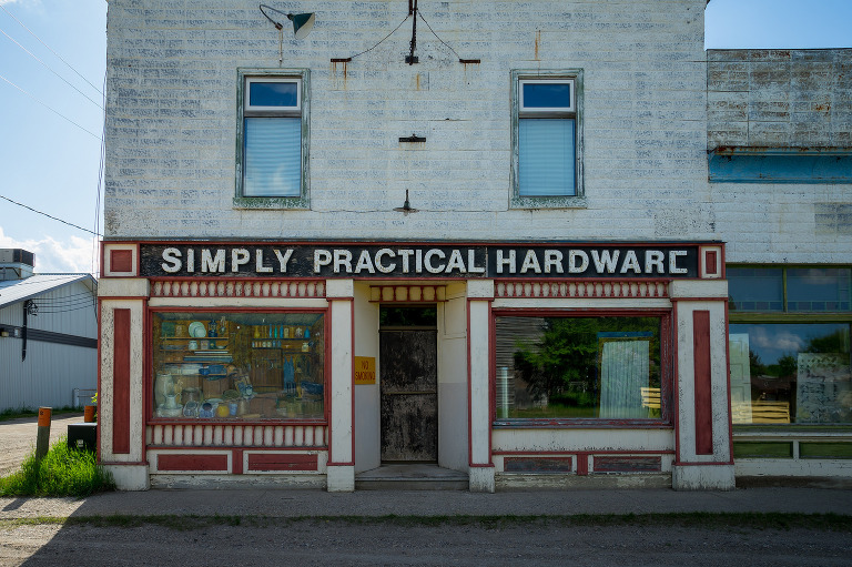 Simply Practical Hardware (Oak Lake, Manitoba).