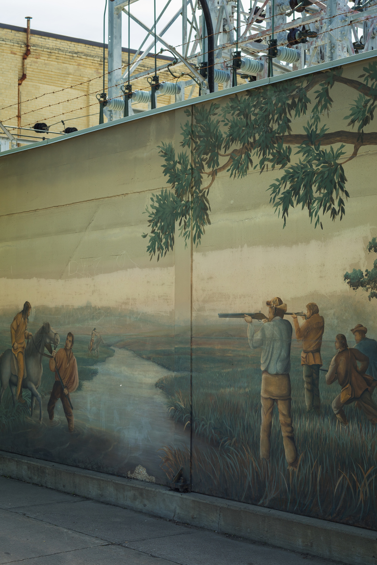 Substation Mural (Main Street).