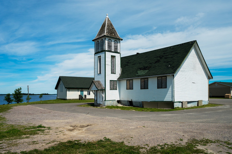 Rossville United Church (Norway House, Manitoba).