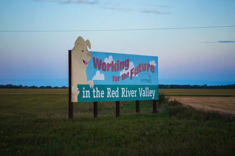 Working for the Future (Red River Valley, Manitoba).