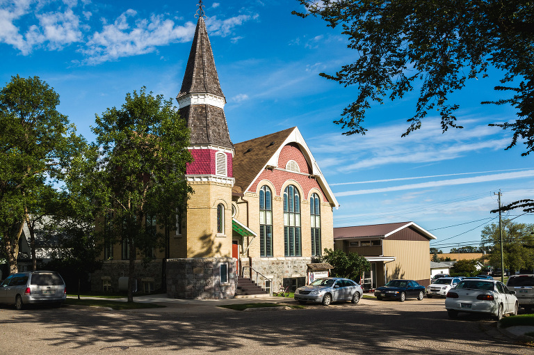 St. Andrews United Church (Manitou, Manitoba).