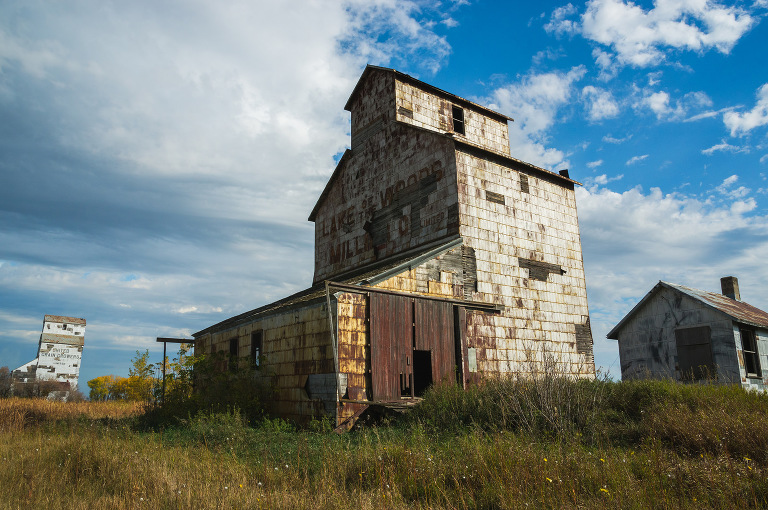 Lake of the Woods Grain Elevator (Elva, Manitoba).