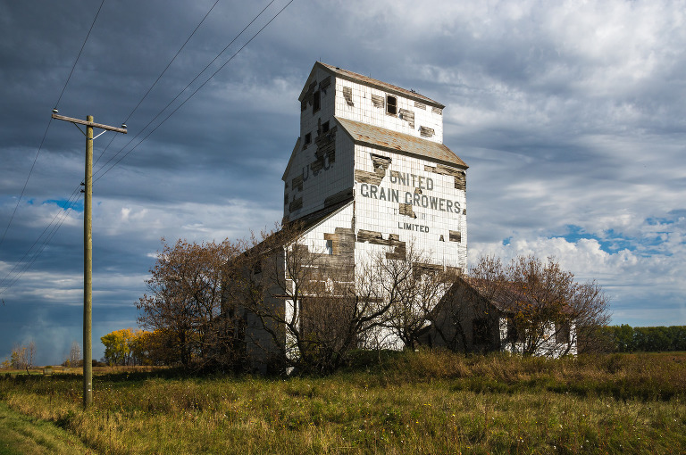 United Grain Growers Grain Elevator (Elva, Manitoba).