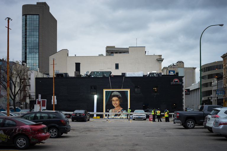 Portrait of Queen Elizabeth (Garry Street).